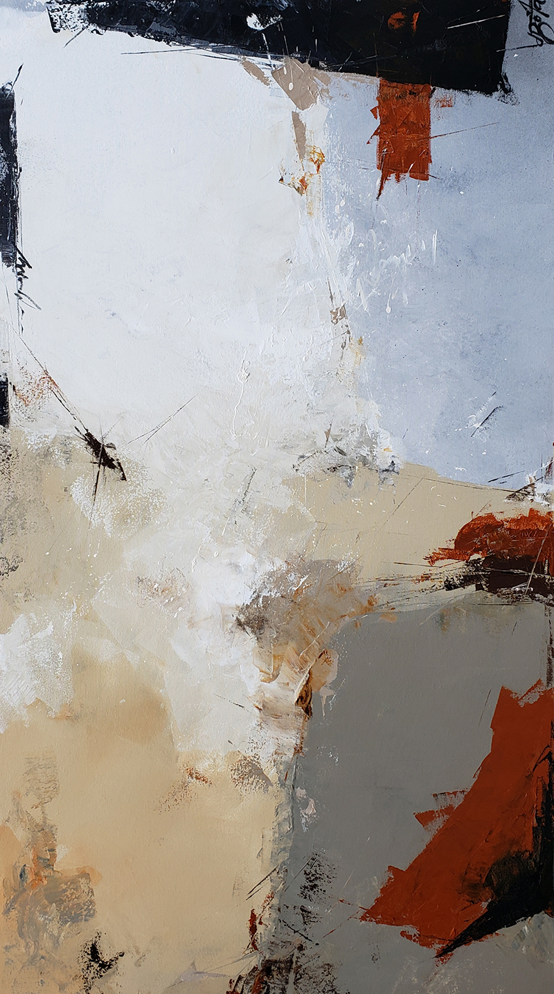 Abstract 90x160cm low