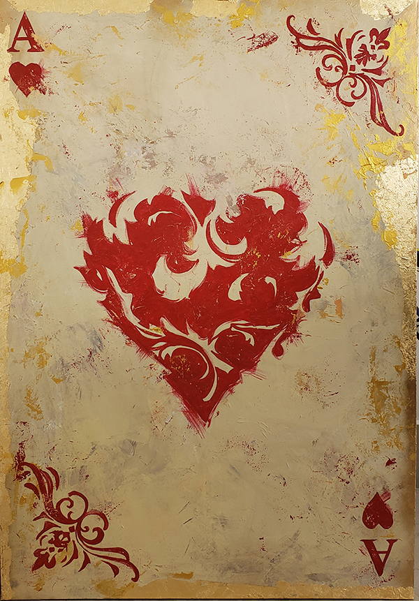 Ace of Hearts 90x130 low
